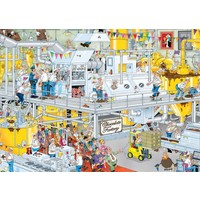 Puzzel JvH: Chocoladefabriek 1000 stukjes