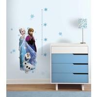 Muursticker Frozen Roommates: groei 45x101 cm
