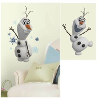 Stickervel Frozen muur Olaf 1 vel 24x58 cm