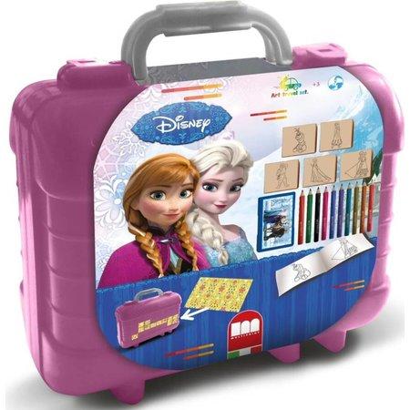 Frozen Schrijfset koffer Frozen: 81-delig