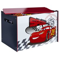 Speelgoedkist hout Cars 65x60x40 cm