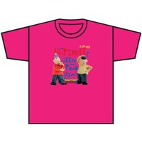 T-shirt Buurman en Buurman fuchsia