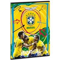 Schrift brazilie A4 lijn