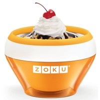 ZOKU Ice Cream Maker Oranje
