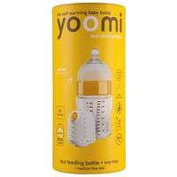 Starterset met flessenwarmer Yoomi: 240 ml
