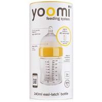 Fles met speen fase 1 Yoomi: 240 ml
