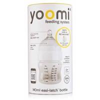 Fles met speen fase 1 Yoomi: 140 ml