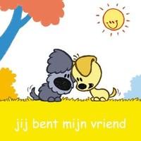 Wenskaart Woezel en Pip: jij bent mijn vriend