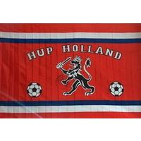 Vlag holland 50x70 cm leeuw en voetballen