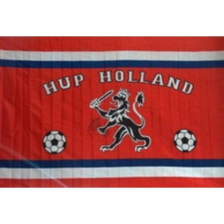 Holland Vlag holland 50x70 cm leeuw en voetballen