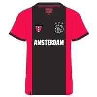 T-shirt ajax rood/zwart/rood Amsterdam wapen