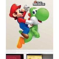 Muursticker Mario: 2 vel 46x101 cm