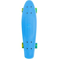 Skateboard Streetsurfing single blue 57 cm/ABEC7
