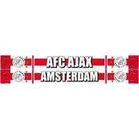 Sjaal ajax wit/rood/wit AFC