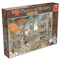 Puzzel Pieces of history: Castle 1000 stukjes