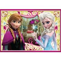 Puzzel Frozen: 3x50 stukjes