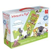 Puzzel Woezel en Pip groeimeter: 25 stukjes