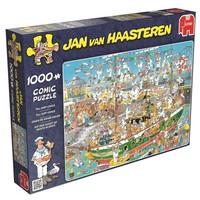 Puzzel JvH: Tall Ship chaos 1000 stukjes