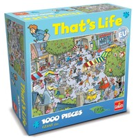 Puzzel That´s life Village 1000 stukjes