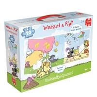 Puzzel Woezel en Pip: 20 stukjes