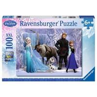 Puzzel Frozen: 100 stukjes