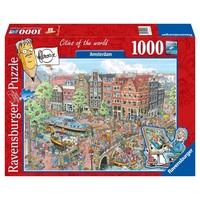 Puzzel Fleroux Amsterdam: 1000 stukjes