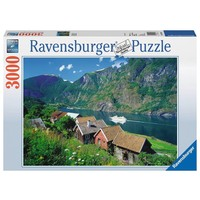 Puzzel Sognefjord Noorwegen: 3000 stukjes
