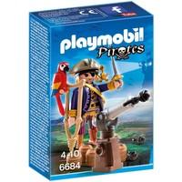 Playmobil 6684 Piratenkapitein Eénoog