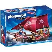 Playmobil 6681 Soldatenzeilschip met kanonnen