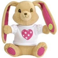 Pluche konijn Pioupiou giftbox roze sterren 25 cm