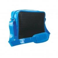 Schoudertas Pixelbags black/blue: 160 stuks L