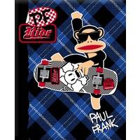 Schrift Paul Frank blue A5 gelijnd
