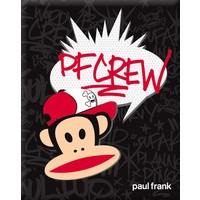 Schrift Paul Frank A5 Julius PF Crew