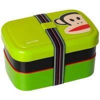 Lunchbox 3-delig met band lime groen Paul Frank