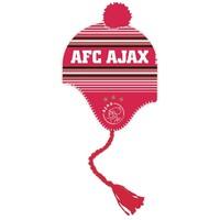 AJAX Amsterdam Muts ajax junior rood/wit met flappen
