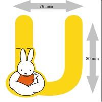 Letter Nijntje 8 cm U