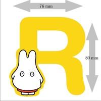 Letter Nijntje 8 cm R