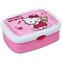 Lunchbox Hello Kitty Mepal hartjes