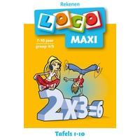 Tafels 1-10 Loco Maxi