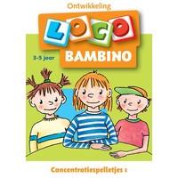 Concentratiespelletjes 1 Loco Bambino