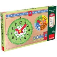 Klok kalender: rechthoekig