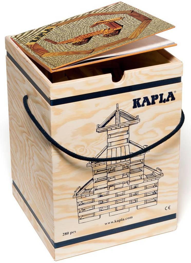 Kapla: 280 stuks in kist met boek: beige