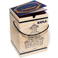 Kapla: 280 stuks in kist met boek: blauw