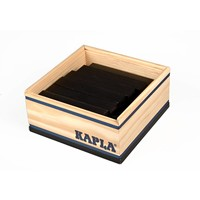 Kapla 40 stuks in kist zwart