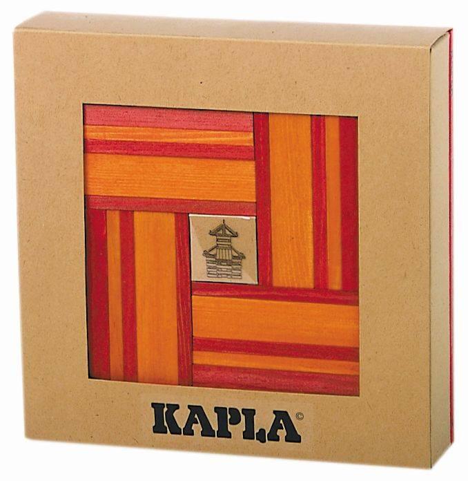 Kapla 40 Stuks Rood - Oranje Met Boekje