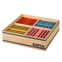 Kapla 100 stuks in kist gekleurd