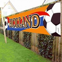 Banner holland oranje Holland 370x60 cm