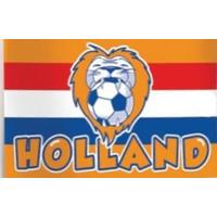 Vlag holland leeuw: 100x150 cm