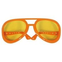 Bril holland oranje: mega Elvis