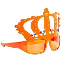 Bril holland oranje kroon oranje